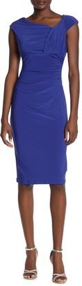 Marina Shirred Slim Dress