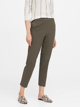 Banana Republic Petite Hayden Tapered-Fit Performance Pant