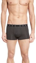 BOSS Men's Cotton & Modal Blend Microjacquard Trunks