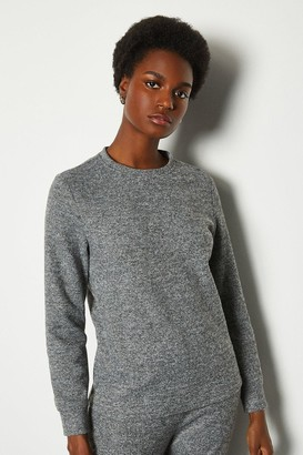 Soft Touch Lounge Crew Long Sleeve Top