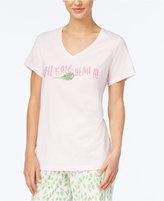 Hue Salad Days V-Neck Pajama T-Shirt