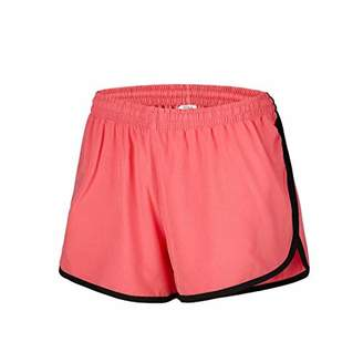 Desirable Time Women Running Shorts Athletic with Pockets Breathable Waistband Workout XL Size