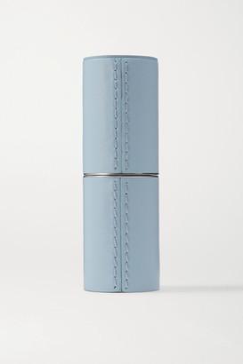 La Bouche Rouge Refillable Leather Case - Sky blue