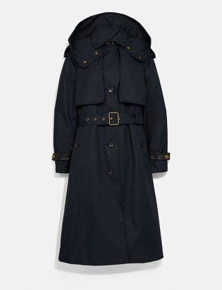 Coach Hooded Trench