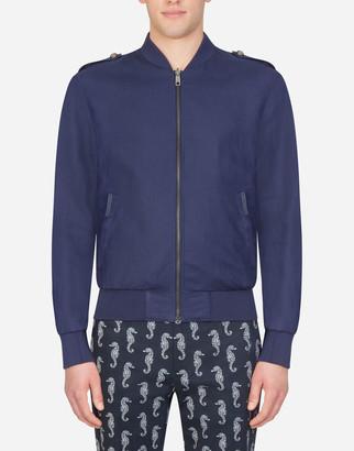 Dolce & Gabbana Linen Jacket