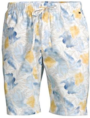 Hanro Night & Day Woven Print Shorts