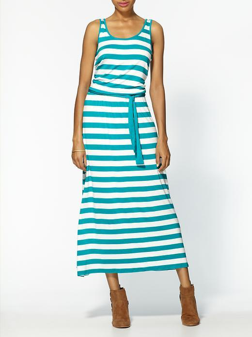 MICHAEL Michael Kors Cabana Yarn Dye Stripe Cami Maxi Dress