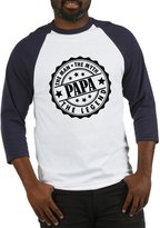 CafePress - Popa - The Man, The Myth, The Legend Baseball Jers - Cotton Baseball Jersey, 3/4 Raglan Sleeve Shirt