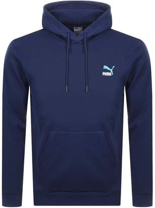 Puma Classics Logo Hoodie Navy