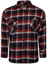 RIDDLED WITH STYLE Mens Lumberjack Check Long Sleeve T Shirt #( Check Long Sleeve Shirt#XLarge#Mens)