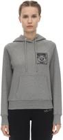 Moschino Cotton Jersey Sweatshirt Hoodie