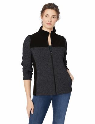 Charles River Apparel Women's Concord Sweater Fleece Full-Zip Jacket