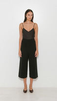 Soyer Cropped Wide Leg Knit Trouser