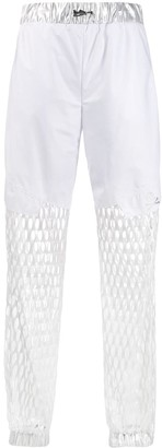 Philipp Plein Cut-Out Tapered Trousers