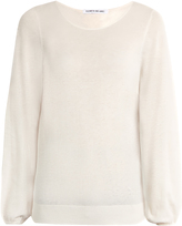 Elizabeth and James Georgia cotton and cashmere-blend sweater