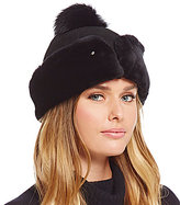 UGG Cuffed Shearling Hat with Pom