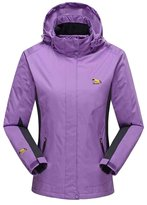 OCHENTA Women's Waterproof Mountain Jacket Fleece Windproof Ski Jacket