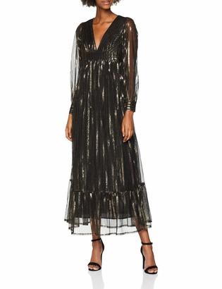 Antik Batik Women's CHAI DRESS Full-Length Cocktail Long Sleeve Party Dress