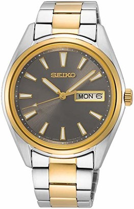 Seiko Women Analogue Japanese Quartz Watch with Stainless Steel Strap SUR348P1
