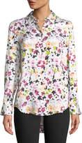 Equipment Essential Button-Down Tiny Floral-Print Shirt