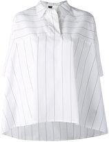 Roberto Collina striped shirt - women - Cotton - S