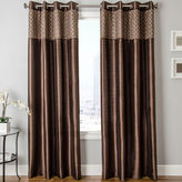 JCPenney SOFTLINE HOME FASHIONS Guild Two-Tone Faux-Silk Grommet-Top Two-Tone Curtain Panel
