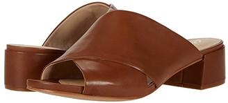 Clarks Sheer Mule (Tan Leather) Women's Shoes
