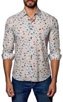 Jared Lang Men's Trim Fit Sport Shirt