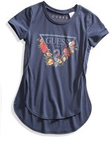 GUESS High-Low Logo Tee (2-6x)