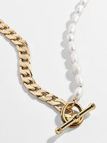 BaubleBar Duo Pearl Choker Necklace