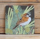 Bird Sparrow Placemat 'Gloss'
