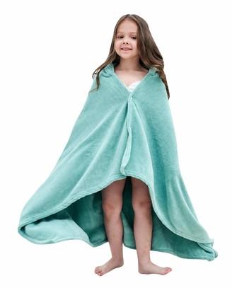 GEMVIE Hooded Bath Towels for Babies Toddlers Cute Animal Bath Robe Soft Plush Hooded Towel Bathrobe for Baby Kids Girls