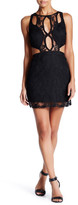 Ark & Co Cutout Detail Lace Fitted Dress