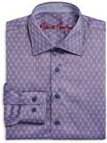 Robert Graham Boys' Gene Motif Dress Shirt