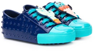Mini Melissa Colour Block Sneakers