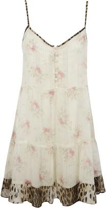 R 13 Overlay Slip Dress