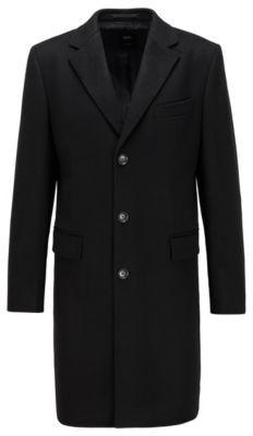 HUGO BOSS Slim-fit blazer coat in pure cashmere