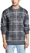 French Connection Men's Maddox Check Sweater