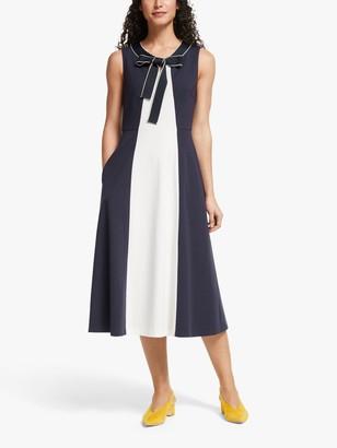 Boden Elise Ponte Jersey Dress, Navy