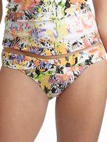 Jessica Simpson Tigerlily Floral-Print Hipster Swim Bottom