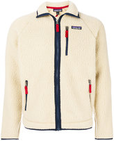 Patagonia wool effect zipped cardigan