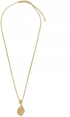 Jenny Bird Thea 14kt gold-dipped necklace