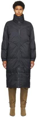 Etoile Isabel Marant Grey Long Crayao Coat