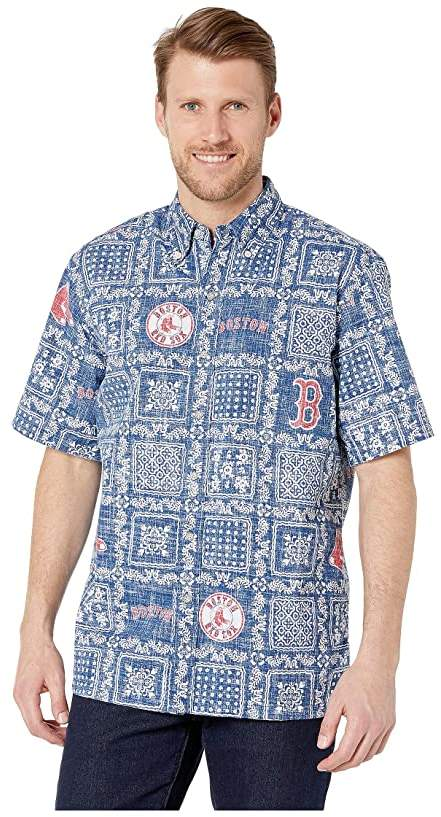 Reyn Spooner Boston Red Sox Lahaina Hawaiian Shirt