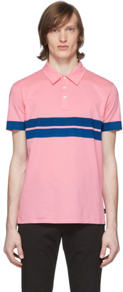 Paul Smith Pink Stripe Sport Polo