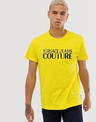 Versace t-shirt in neon yellow