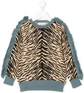Stella McCartney Alex tiger print jumper