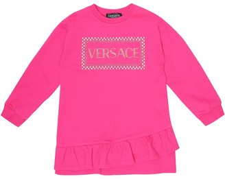 Versace Kids '90s Vintage cotton sweater dress