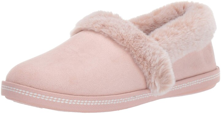 Thumbnail for your product : Skechers Women's Cozy Campfire-Team Toasty-Microfiber Slipper with Faux Fur Lining