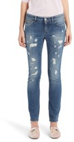Dolce & Gabbana Women's Ripped Skinny Jeans